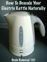 How To Descale An Electric Tea Kettle To Remove Hard Water Buildup