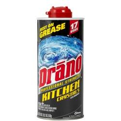 Drano Crystals Review - Removed Grease Clog From Kitchen Sink Drain