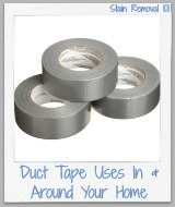 duct tape uses