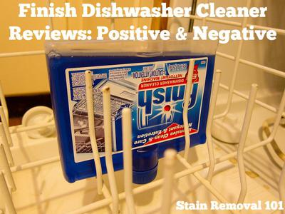 Finish Dishwasher Cleaner Reviews Experiences