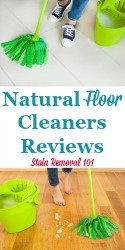 Natural Floor Cleaning Supplies