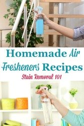 Air Fresheners Recipes
