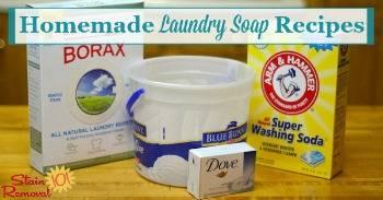 Duggar Laundry Soap Recipe