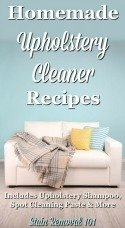 Homemade Upholstery Cleaner Recipes