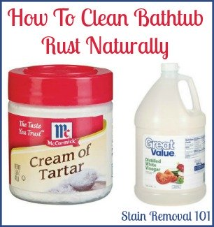Natural Rust Remover For Shower