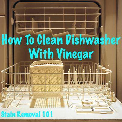 How To Clean Dishwasher With Vinegar