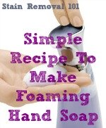how to make foaming soap