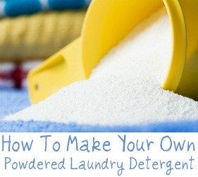 Make your own laundry detergent powder recipes instructions how to make your own laundry detergent powder recipes you can use solutioingenieria Images