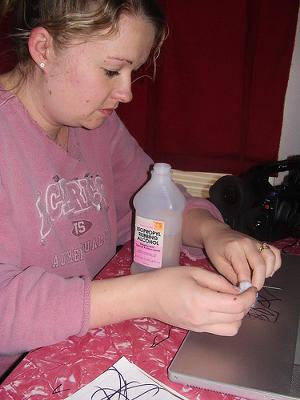 Removing Permanent Marker With Alcohol