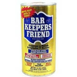 I Use Bar Keepers Friend To Clean Stainless Steel Sink