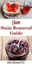 Jam Stain Removal Guide