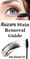 Mascara Stain Removal Guide