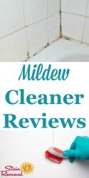 Mildew Cleaners