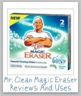 uses for Mr. Clean magic eraser