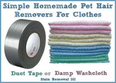 Tips For Removing Pet Hair From Clothes & Laundry