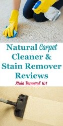 Natural Carpet Cleaners