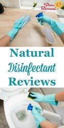 Natural Disinfectants Reviews