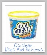 Oxiclean uses