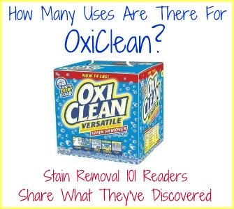 oxi clean versatile stain remover uses for cleaning laundry. Black Bedroom Furniture Sets. Home Design Ideas
