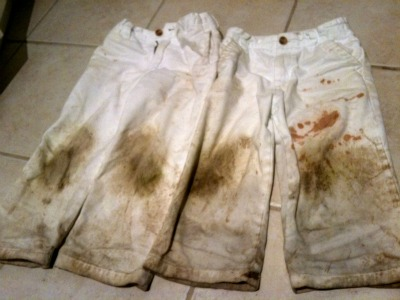 The Ultimate Pants Stain