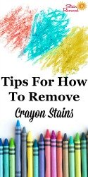 Remove Crayon Stains