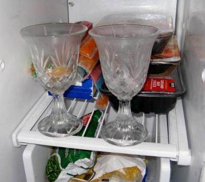 Put Your Votive Candle Holders In The Freezer