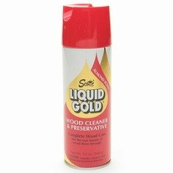 Aerosol Liquid Gold Wood Cleaner & Preservative