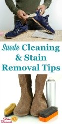 Suede Cleaning Tips