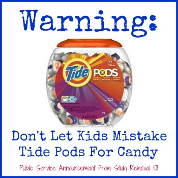 Tide Pods Reviews Plus Safety Warning For Kids