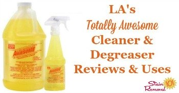 LA's Totally Awesome Cleaner & Degreaser reviews and uses