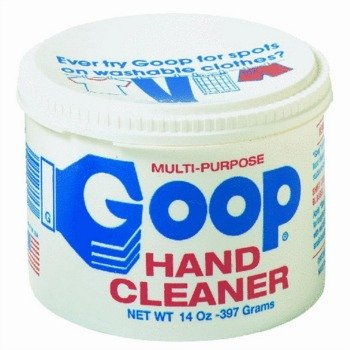 how to clean hand oil buildup