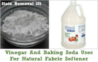 Vinegar And Baking Soda Uses For Natural Laundry Fabric Softener