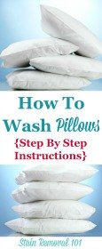 How To Wash Pillows & Dry Them So They're Not Lumpy