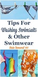 Tips For Washing Swimsuits