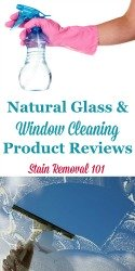 Window Cleaning Products
